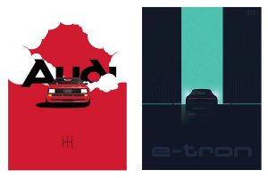 Audi Heritage Poster Series