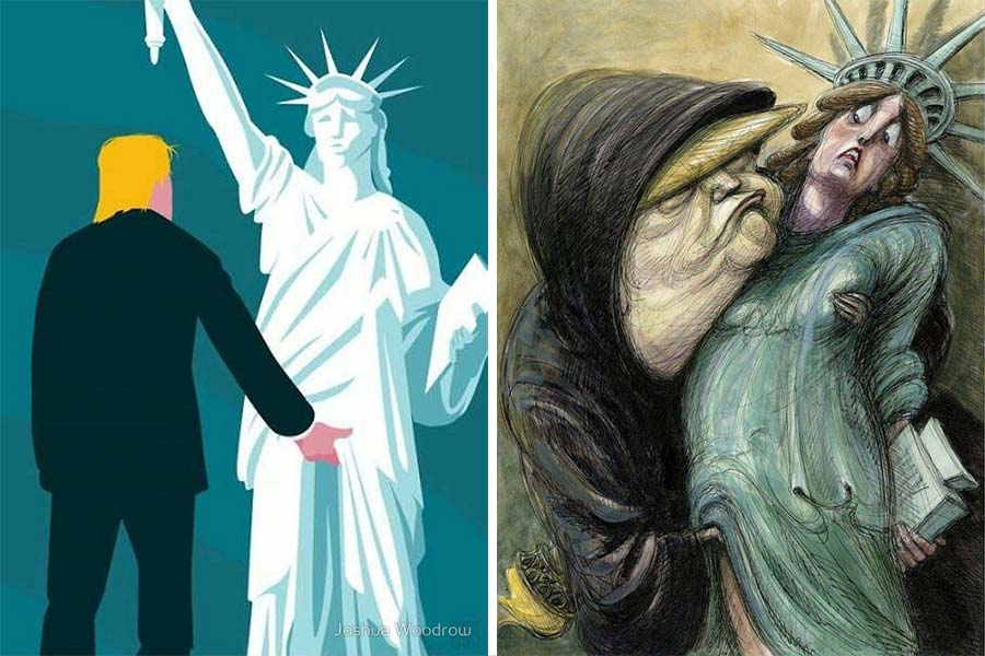 Joshua Woodrow e Victor Juhasz su Trump