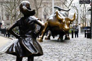 statua della fearless girl