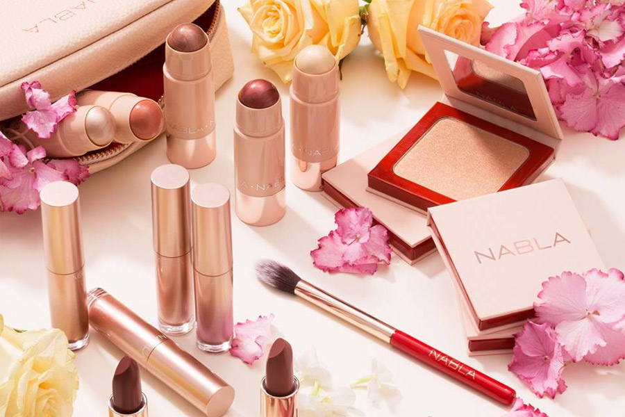 digital branding nabla cosmetics